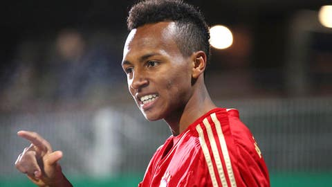 Julian Green, midfielder