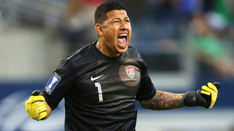 GK: Nick Rimando (Real Salt Lake)