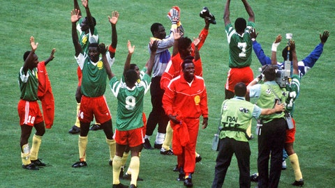 Cameroon have qualified for the World Cup more than any other African nation