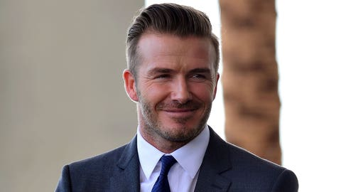 David Beckham Announces New MLS Team in Miami, Son Brooklyn Joins Him