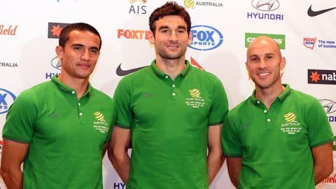 They'll be without captain Mile Jedinak