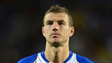 Key player: Edin Dzeko (Manchester City)