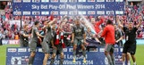Rotherham beat Leyton Orient on penalties to secure promotion to Championship