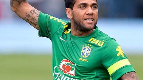Dani Alves, Brazil