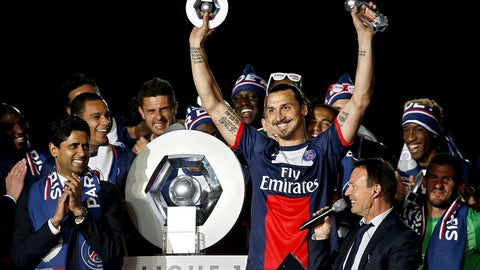 Paris Saint-Germain (Last week: Ninth)