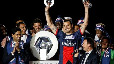 Paris Saint-Germain (Last week: Ninth)