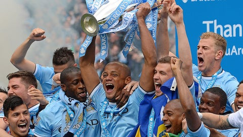 Manchester City (Last week: Fourth)