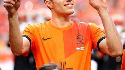 Key player: Robin van Persie (Manchester United)
