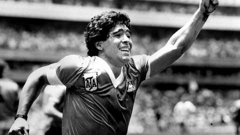 1986: Maradona's stunning double against England
