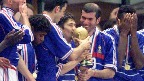 1998: France wins on home soil