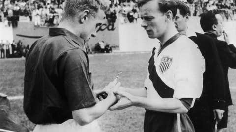 1950: United States defeats England