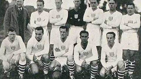 USA finishes third in World Cup bow in Uruguay (1930)