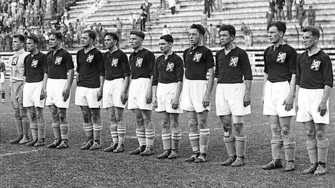1934: Oldrich Nejedly, Czechoslovakia, 5 goals