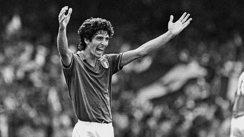 1982: Paolo Rossi, Italy, 6 goals