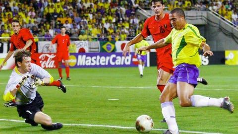 2002: Ronaldo, Brazil, 8 goals