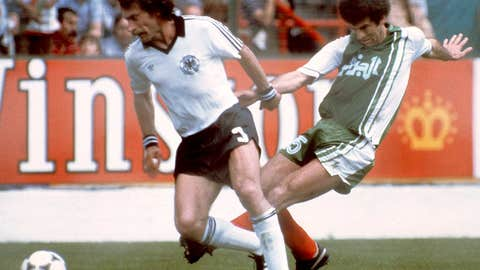 Algeria 2 West Germany 1, Gijon, 1982