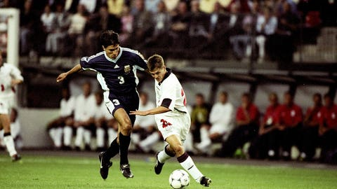 Michael Owen vs. Argentina in 1998
