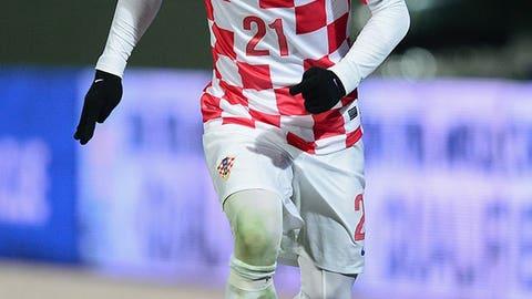 Danijel Pranjic, Croatia