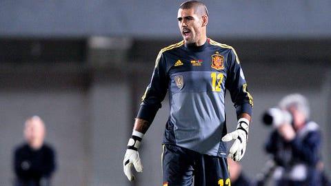 Victor Valdes, Spain