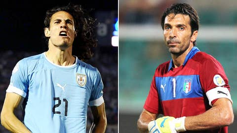 Italy vs. Uruguay (June 24, Natal)