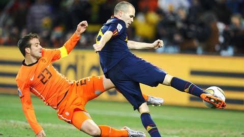 Spain vs. Netherlands (June 13, Salvador)