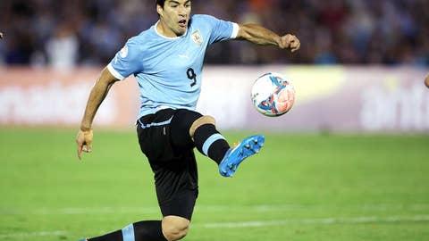 Uruguay vs. England (June 19, Sao Paulo)