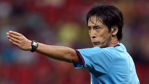 Nishimura appointed for Brazil-Croatia opener