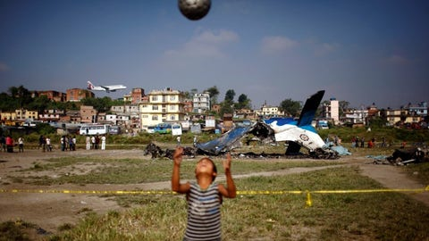 Soccer in strange places
