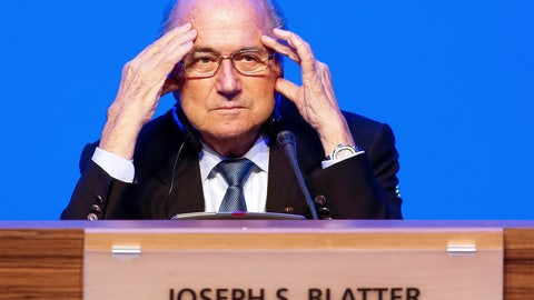 Sepp Blatter positions himself for a fifth term