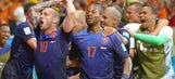 New-look Netherlands produce first World Cup stunner in Brazil