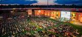 Get comfy: Fans in Berlin watch World Cup in giant outdoor living room