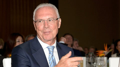 Franz Beckenbauer banned from soccer activities by FIFA