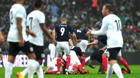 England vs. Scotland