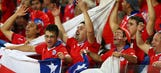 Tighter World Cup security checks after Chile fans let off fireworks