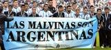FIFA opens case against Argentina FA over Las Malvinas banner