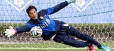 Italy keeper Buffon out of Group D match versus England