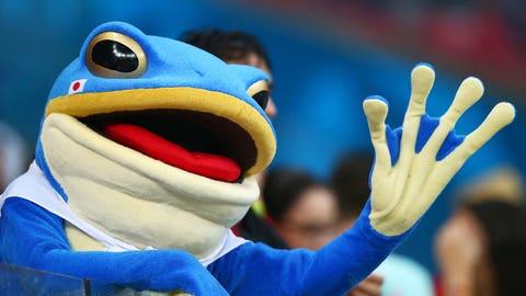 Frog splash!