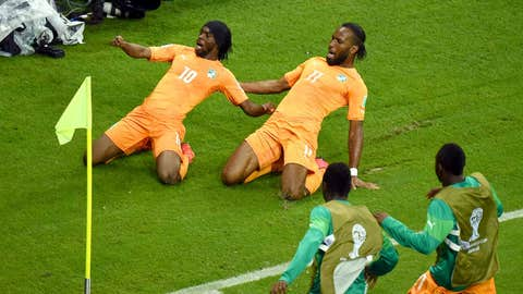 Côte d'Ivoire responds in second half to defeat Japan