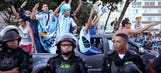Argentina fans get rowdy in Rio ahead of Bosnia-Herzegovina match