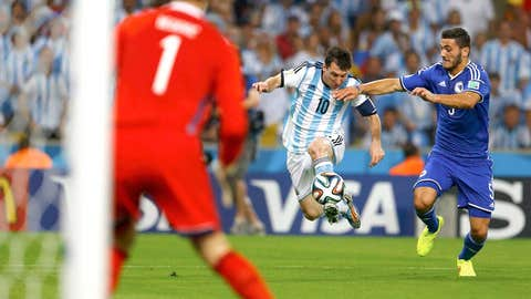 More Messi...