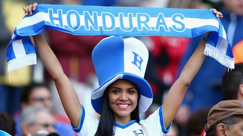 So you're rooting for Honduras, right?