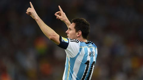 Messi delivers at the Maracana