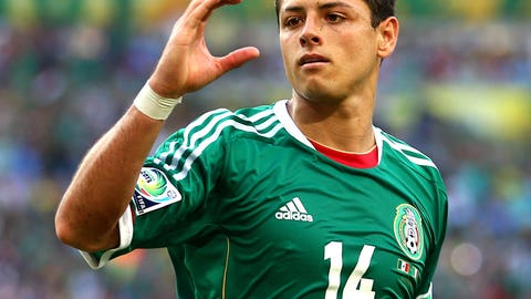 Javier and Javier Hernandez (Mexico)