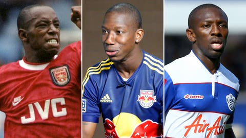 Ian Wright and Shaun and Bradley Wright-Phillips (England)