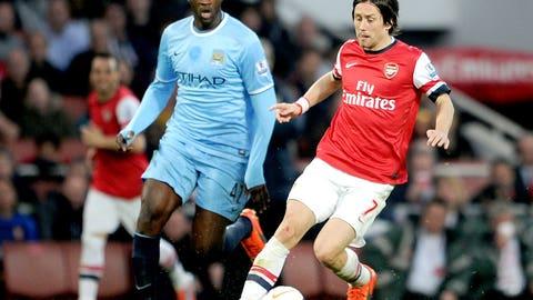 Man City v Arsenal (Saturday, January 17)