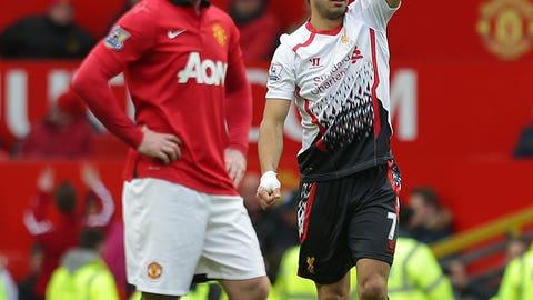Man Utd v Liverpool (Saturday, December 13)
