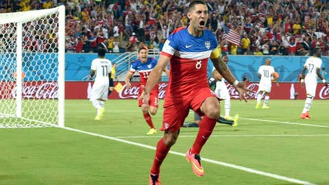 USA forward Clint Dempsey