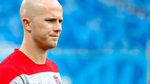 USA midfielder Michael Bradley