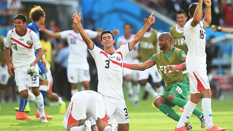 Costa Rica shocks Italy to book round of 16 berth