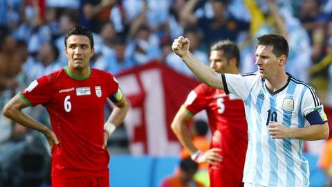 Messi saves Argentina … again
